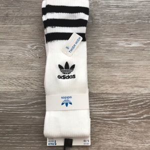 Women's Adidas thigh high socks